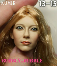 KUMIK Emma Stone 1/6 Head Sculpt For Hot Toys Phicen Body SHIP FROM USA