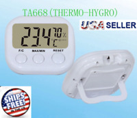 LCD Digital INDOOR Thermometer Hygrometer Meter Gauge Temperature Humidity NEW