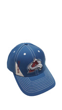 Nhl Colorado Avalanche Structured Logo Hat Adjustable Cap Reebok