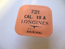 LONGINES 19AS,19A,19ASD,19AD BALANCE COMPLETE PART 721 NEW WITH TAGS