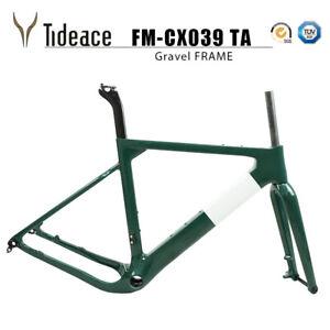 Cycling Gravel Bicycle Frame BB386 S/M/L T800 Carbon Fiber Cyclocross Bike Frame