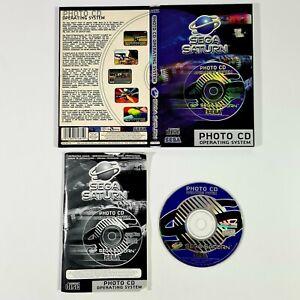 ©1995 SEGA Saturn PHOTO CD OPERATING SYSTEM Pal Negative/Dias/35mm/Slide Show