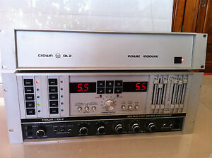 Crown DL2 Preamp/Controller Very Rare
