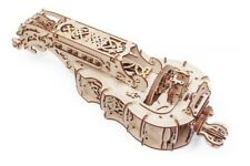 UGEARS Mechanical 3D Puzzle Wooden HURDY-GURDY Model for self-assembly