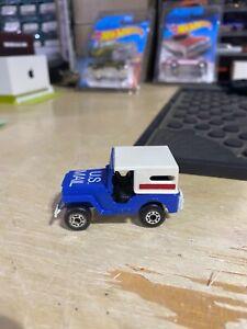 Matchbox Lesney Sleet N Snow U.S. Mail Jeep 1:64