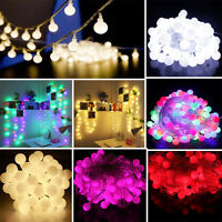 10M 100 Bulbs Berry Ball Fairy LED String Lights Christmas Xmas Party Tree Decor