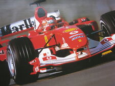 Poster Marlboro Ferrari F2004 2004 #1 Michael Schumacher (GER) type 2