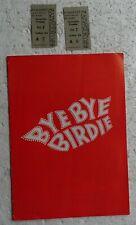 1961 London Show Program BY BY BIRDIE (with tickets) Angela Baddeley Marty Wilde