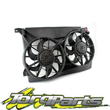 TWIN THERMO FANS SUIT AU FALCON FORD FAIRMONT RADIATOR ASSEMBLY 6CYL V8