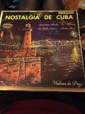 Vintage Nostalgia De Cuba Violins de Pego LP Vinyl Record Latin Music