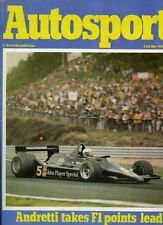 Autosport May 25th 1978 *Belgian Grand Prix*