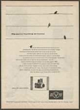 HASSELBLAD camera - Big-game hunting at home - 1956 Vintage Print Ad