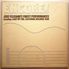 """JOSE FELICIANO """"ENCORE!"""" PREMIUM QUALITY USED LP (NM/EX)"""