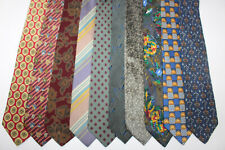 LOT OF 10 PIERRE BALMAIN  silk ties. F506