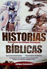 Historias Biblicas del Antiguo Testamento New! DVD, Narracion Dramatizada,3 hora
