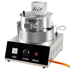 Lp Gas Heating Spherical Popcorn Machine 17oz Stainless Steel Corn Popper
