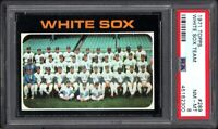 1971 TOPPS #289 CHICAGO WHITE SOX TEAM PSA 8 NM/MT