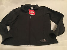NORTH FACE Women EMBLA FULL ZIP JACKET Large Solid Industry Blue All Seasons NEW