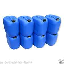 8 x 30 L Behälter Plastikeimer Kanister Wasserbehälter Box Camping & Outdoor.