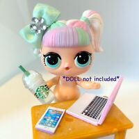 4 PC LOL Accessories Surprise Doll Frappuccino Clothes Lot *DOLL NOT INCLUDED*