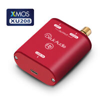 Mini USB to Optical/Coaxial Audio Converter Adapter XMOS 208 Digital Interface