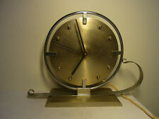 Art Deco Bauhaus Tischuhr Kaminuhr 220 V. Uhr zum Herichten #<