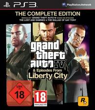 Playstation 3 GTA 4 COMPLETE + Episodes from Liberty City *Neuwertig