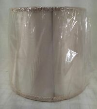 VINTAGE WIRE FRAME LAMP SHADE FOR LAMP SHADE MAKING, RESTORATION, REPAIR, WHITE