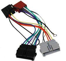 Adaptador con ISO cables enchufes para autoradio de Chrysler, Jeep Wrangler