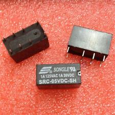 50pcs/lot SRC-05VDC-SH DIP-8 NEW SONGLE Relay