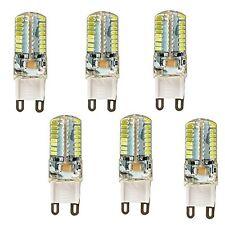 6Pcs 5W G9 3014SMD 64-LED Energy Saving White Light Bulb Spotlight Lamps 110V