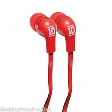 JIVO CUFFIE IN-EAR ONE DIRECTION ROSSO - NUOVE