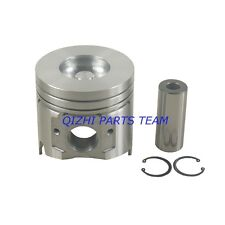 New Engine Piston kit with ring and Gasket set For Yanmar 4TNV98 4TNV98T Engine