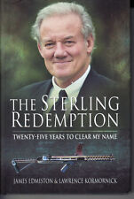 STERLING REDEMPTION. TWENTY-FIVE YEARS TO CLEAR MY NAME. SIGNED BY BOTH AUTHORS