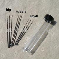 9Pcs* Felting Needles Wool Felt Bottle Set Handle Holder Craft Kit DIY Tool