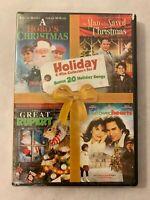 Holiday Collector's Set Hallmark Lifetime Channel Christmas 4 Movies DVD New