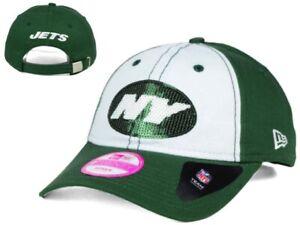 New NWT New York Jets New ERA Glimmer 9Twenty Women's Adjustable Clasp GD