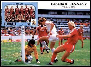 Masterfile Mexico 86 Postcard - (9 June 1986) SSSR vs Canada