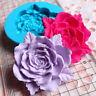 Rose Flower Silicone Cake Fondant Mould Wedding Cupcake Sugarcraft Mold