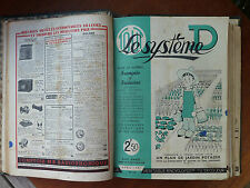 Former review diy ALL THE SYSTEM D 17 numbers 1941/1942