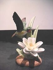 Hummingbird Figurine Birds in Flight To Spring Odyssey Royal Heritage Porcelain