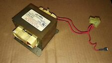 7AA74 GE SPACEMAKER XL MICROWAVE OVEN TRANSFORMER: 120VAC , 0.9 / 0.5 / 66 OHMS
