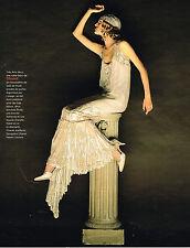 PUBLICITE ADVERTISING 094  1998  CHANEL haute couture modèle ARTS-DECO