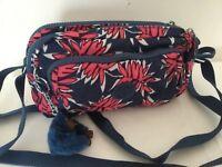 New Kipling Melinda Small Double Zip Crossbody Bag With Adjustable