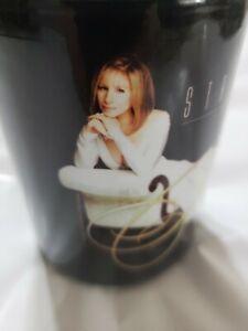 Barbra Streisand Concert Tour 2006 Collectable Souvenir Coffee Mug Black