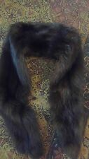 Vintage Mink Real Fur Stole Scarf Shaw Wrap 71 inches long by Lartrnhaus
