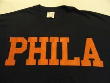 PHILA Philadelphia 76ers navy blue 2XL tee NBA playoffs