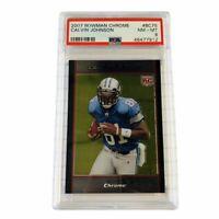 Calvin Johnson 2007 Bowman Chrome PSA 8 Rookie Card RC #BC75 HOF Bound