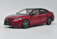 1/18 Scale Toyota Camry 2018 Sport 8th Generation Red Diecast Car Model