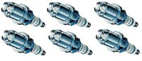Spark Plugs x 6 Bosch Super 4 Fits Vauxhall Vectra Omega Sintra 2.5 3.0 3.2 V6